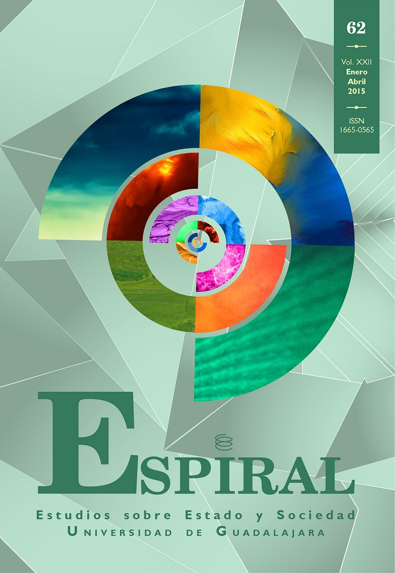 Ver Vol. 22 Núm. 62: Espiral 62 (enero-abril 2015)
