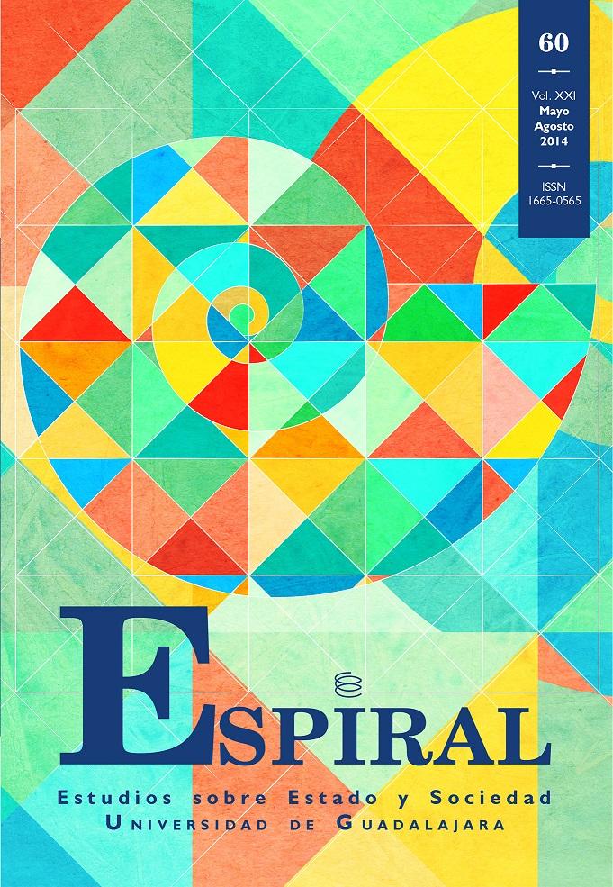 Ver Vol. 21 Núm. 60: Espiral 60 (mayo-agosto 2014)