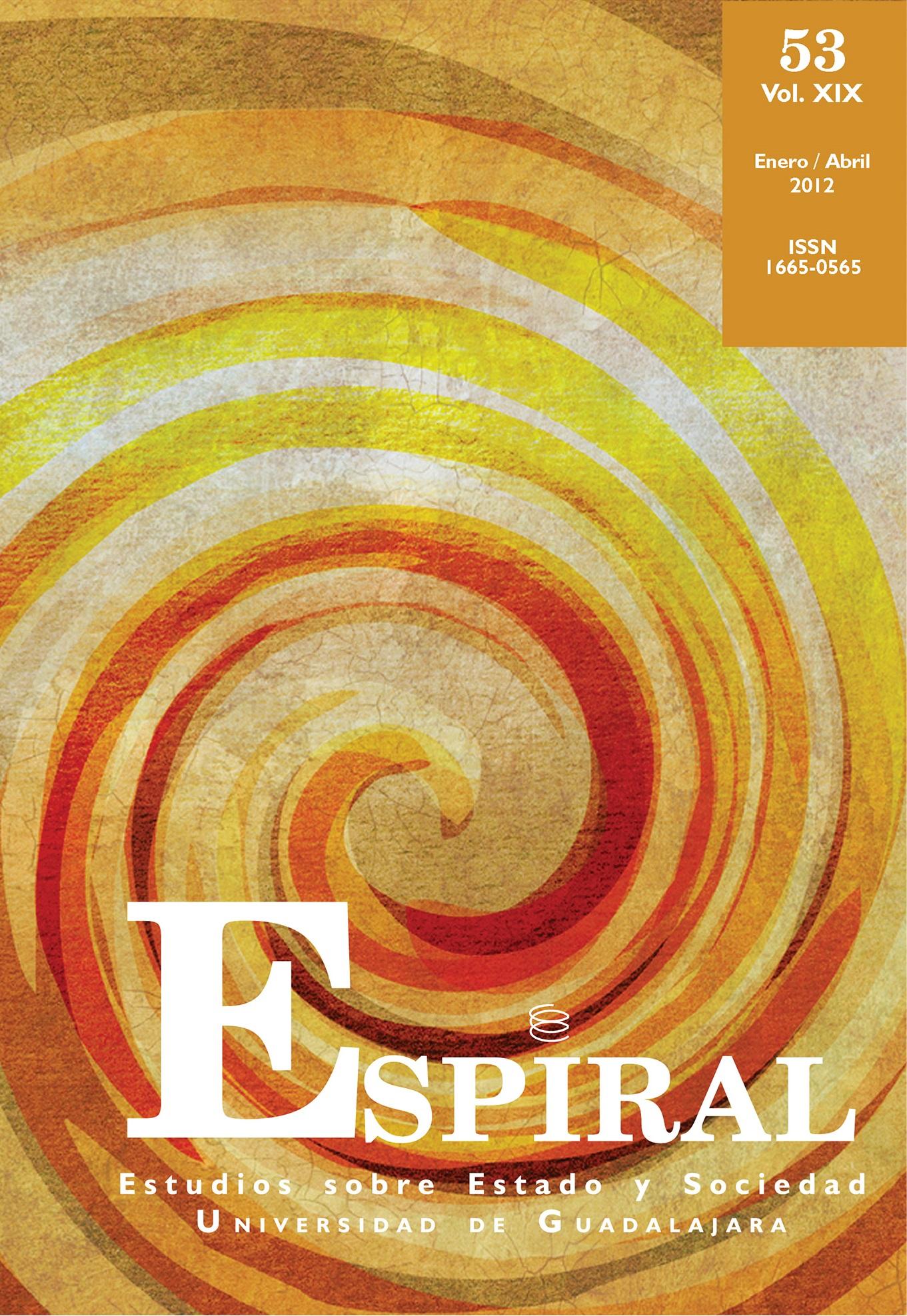 Ver Vol. 19 Núm. 53: Espiral 53 (enero-abril 2012)