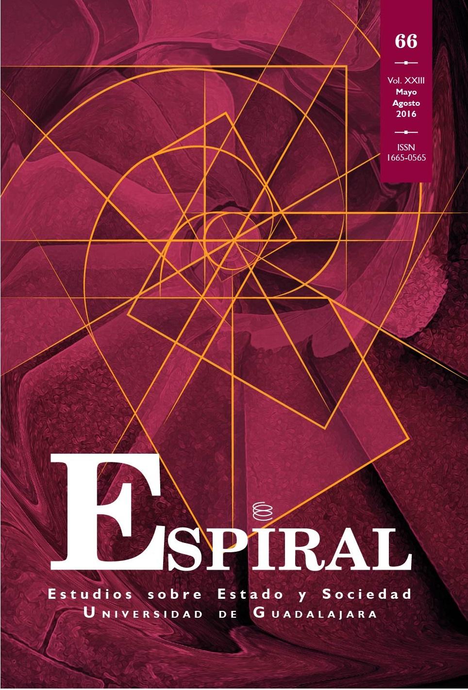 Ver Vol. 23 Núm. 66: Espiral 66 (mayo-agosto 2016)