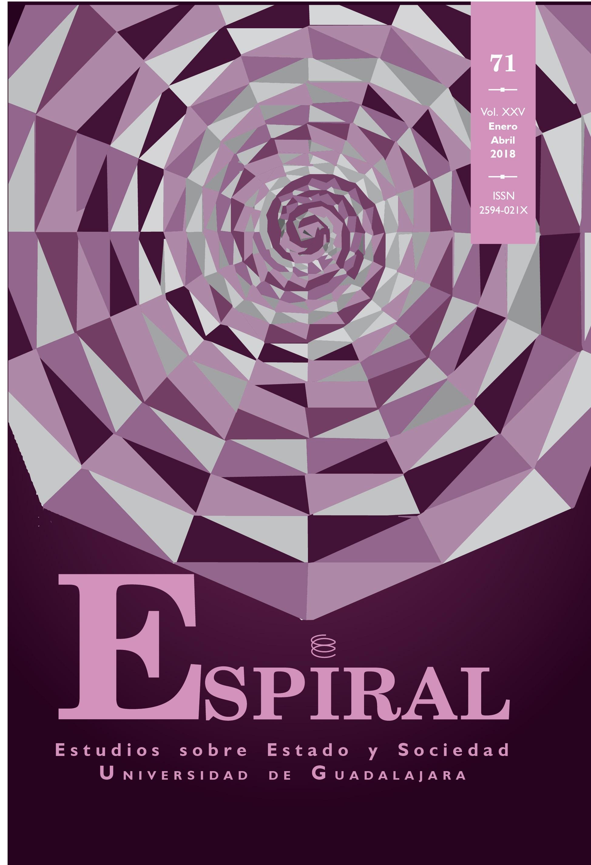 Ver Vol. 25 Núm. 71: Espiral 71 (enero-abril 2018)