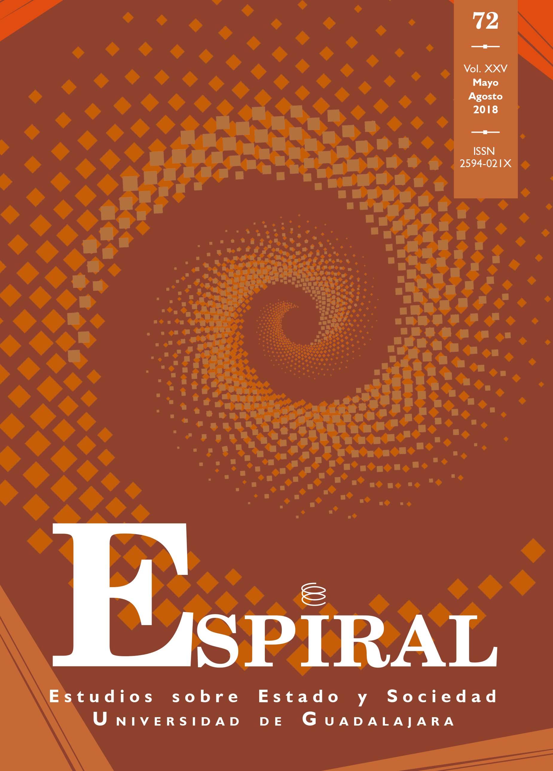Ver Vol. 25 Núm. 72: Espiral 72 (mayo-agosto 2018)